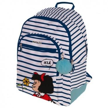 Mochila Mafalda 45x33x22 cm. Marinera 37500156