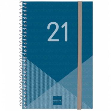Agenda Espiral Finocam Year E5 S/V A.Azul 741441021