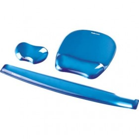 Alfombrilla Reposamuñeca Fellowes 9114120 Gel Azul